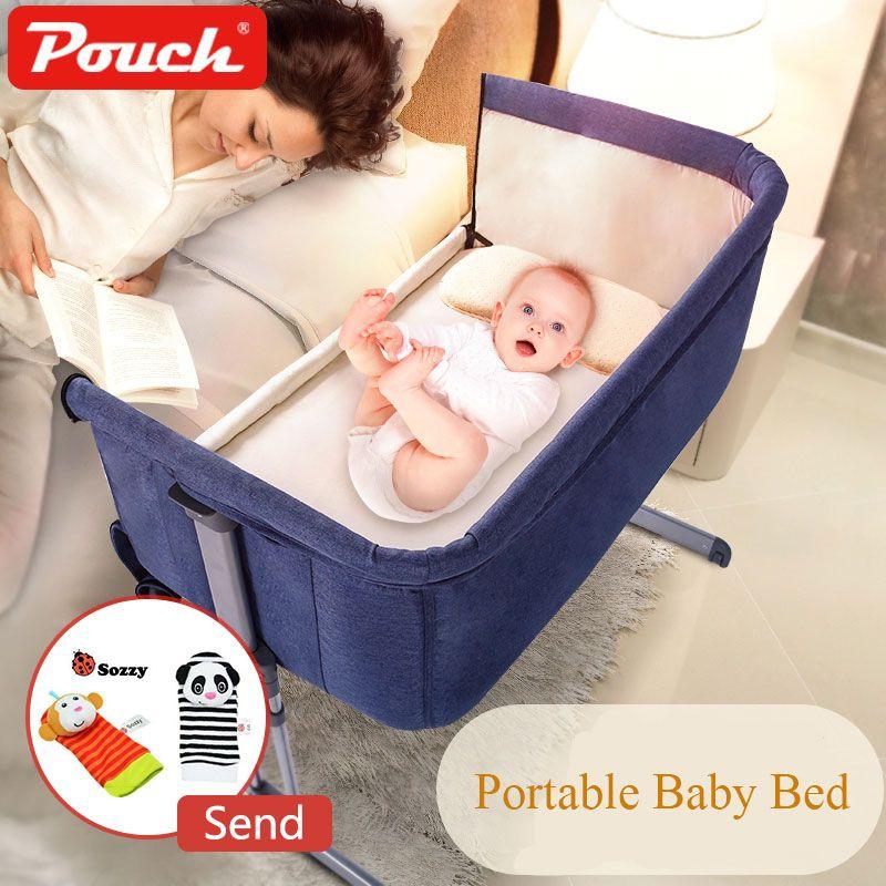 Freies Schiff! Beutel H05 Marke Baby Bett Faltbare Tragbaren Kinderbett atmungs Bett reise Wiege Neugeborenen Bett mit eltern normalen große bett