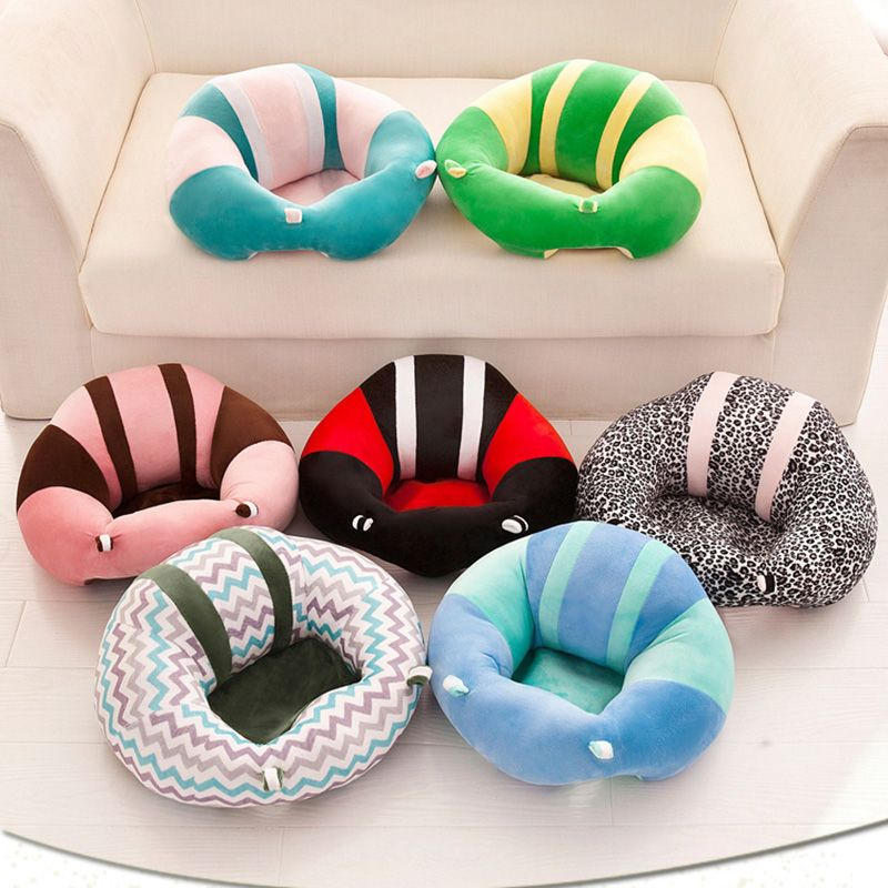 Infant Baby Seat Support Seat Soft Cotton Safety Cotton Travel Car Seat PillowPlush Legs Feeding Chair Baby Seats Sofa