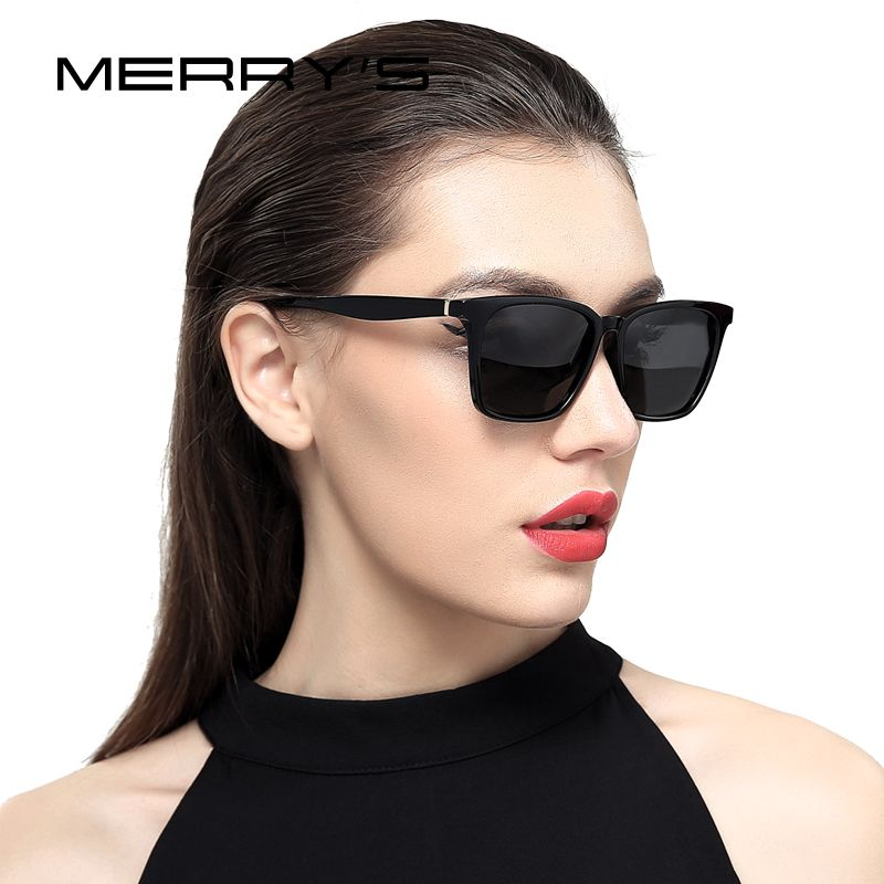 Веселый Дизайн Для мужчин/Для женщин классические Поляризованные Солнцезащитные очки для женщин модные Солнцезащитные очки для женщин 100% ...