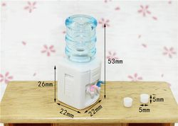1:12  Scale Drinking fountains Dollhouse Miniature Toy Doll Food Kitchen living room Accessories