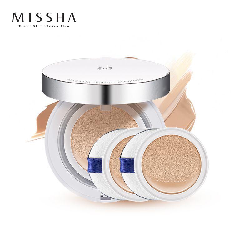 MISSHA M Magic Cushion SPF50+/PA+++ #27 Honey Beige flawless air BB cream Foundation Makeup Sunscree Korea