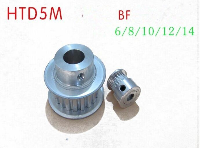HTD 5M pulley timing pulley  5M24T  Timing Belt Synchronous wheel Pulley fit belt width 15mm