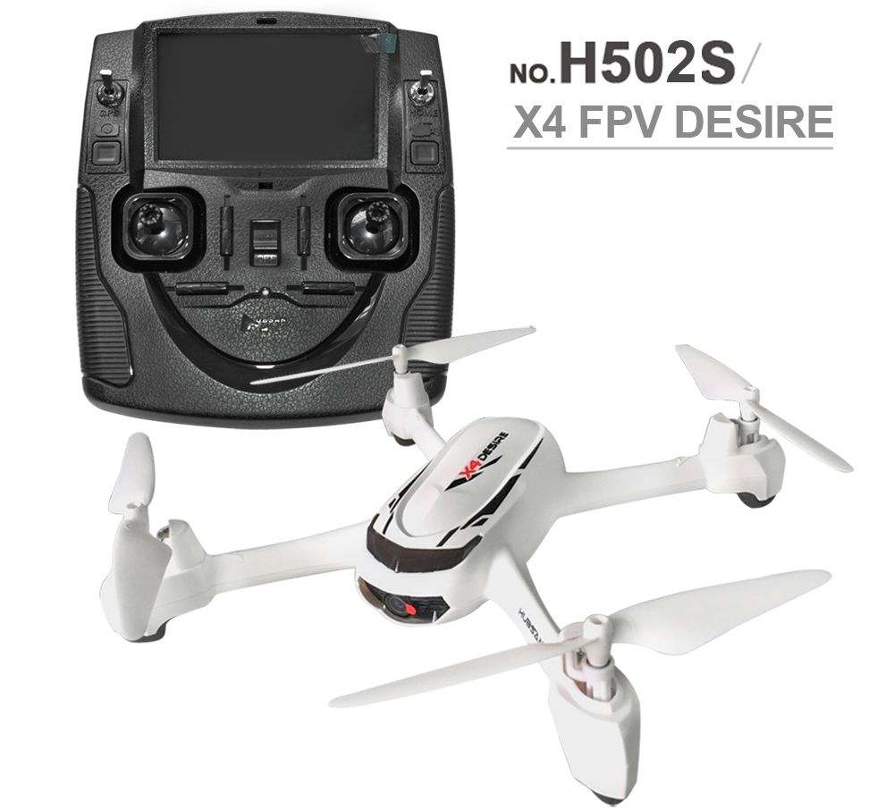 Hubsan X4 H502S RC Drone 5.8G FPV GPS Altitude Mode High-End RC Quadcopter 720P Camera LCD Display Control Distance Up To 300m