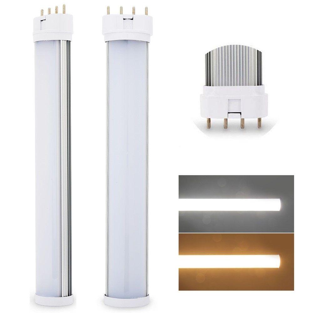 Le meilleur 2G11 lumière LED 2G11 LED tube 12 W 15 W 18 W 25 W SMD2835 a diffusé la barre de AC85--265V blanche chaude/fraîche de LED ultra lumineuse de couverture
