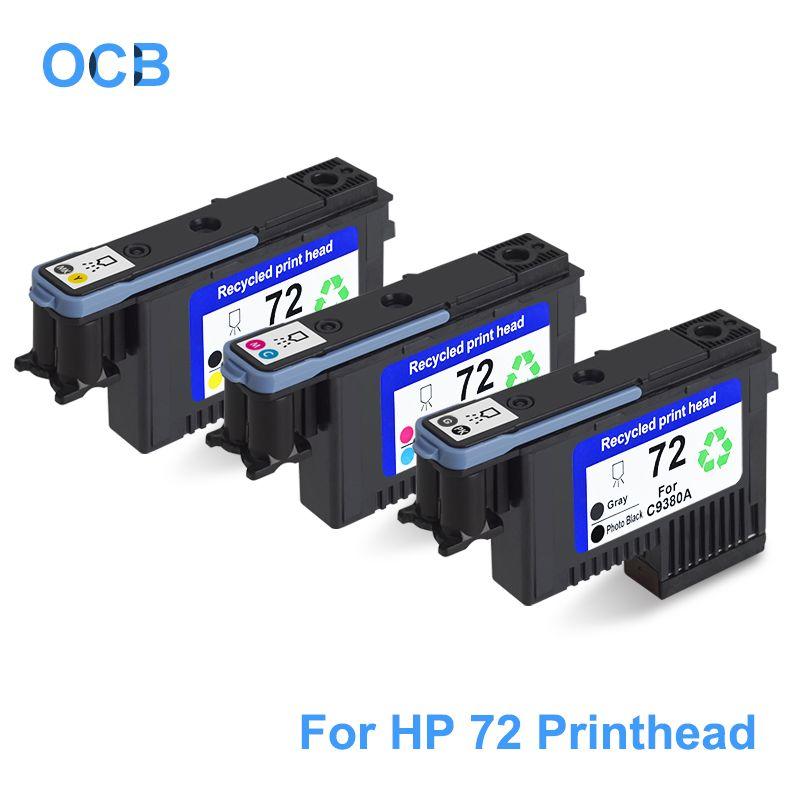 For HP 72 Printhead C9380A C9383A C9384A Print Head For HP Designjet T610 T620 T770 T790 T795 T1100 T1120 T1200 T1300 T2300