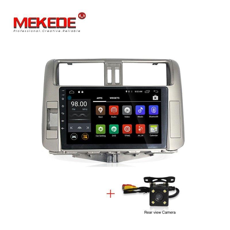 MEKEDE HD 1024*600 Android 7.1 Auto DVD Radio GPS Navi Stereo-Player für Toyota Land Cruiser Prado 150 Serie 2010 2011 2012 2013