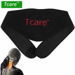 * Tcare 1 Pcs Turmalin Sabuk Leher Diri Penghangat Ruangan Brace Terapi Magnet Bungkus Melindungi Band Leher Dukungan Massager Belt perawatan Kesehatan