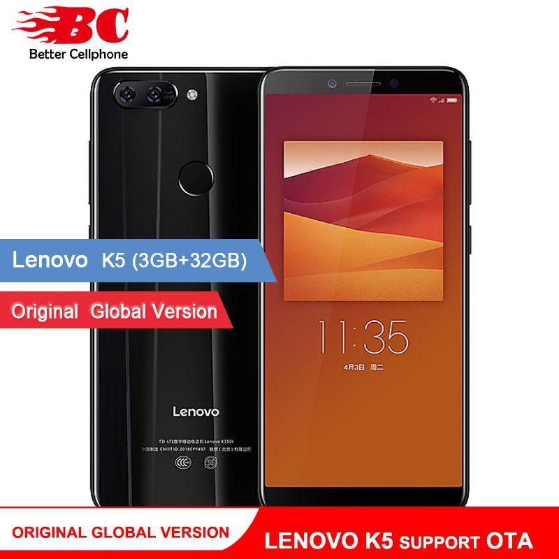 Original Global Version Lenovo K5 K350t Support OTA 3GB+32GB MTK6750 Octa core 5.7