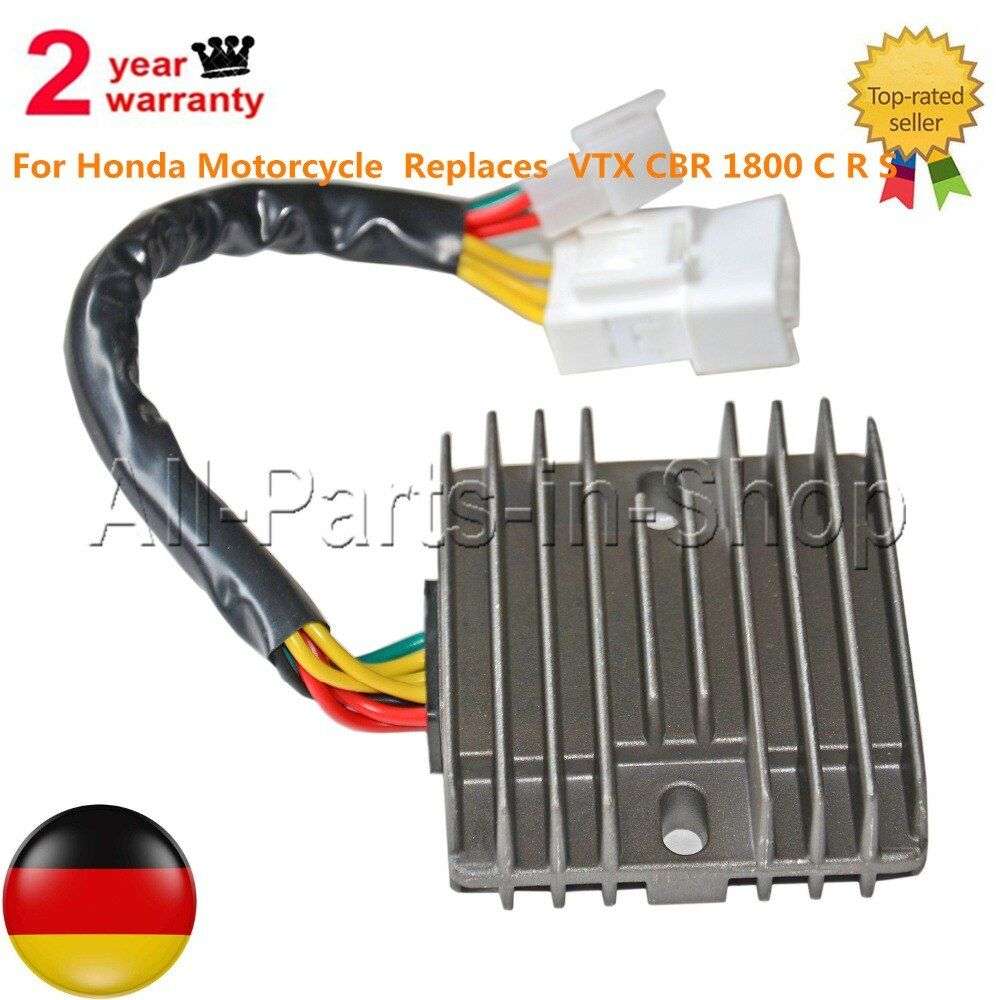Voltage Regulator Rectifier For Honda Motorcycle  Replaces  VTX CBR 1800 C R S 31600-MCJ-750 31600MCJ750
