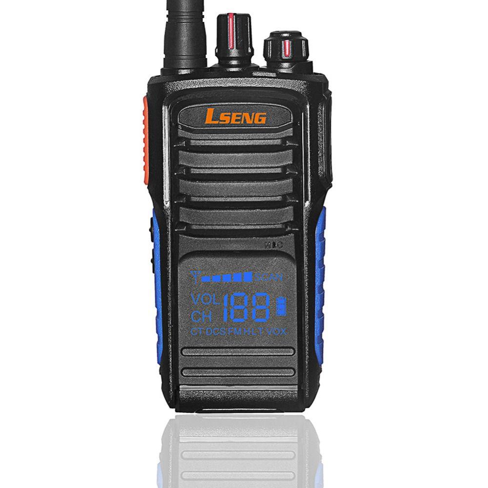 Lseng T-328 Professional Handheld Walkie Talkie with Hidden Display UHF400-480 Analog Portable Walkie Talkie