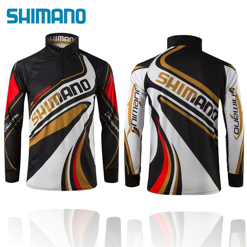 M-5XL Outdoor Sportswear UV Breathable Quick-drying Fishing Clothes New Fishing Shirt High-Quality Fishing