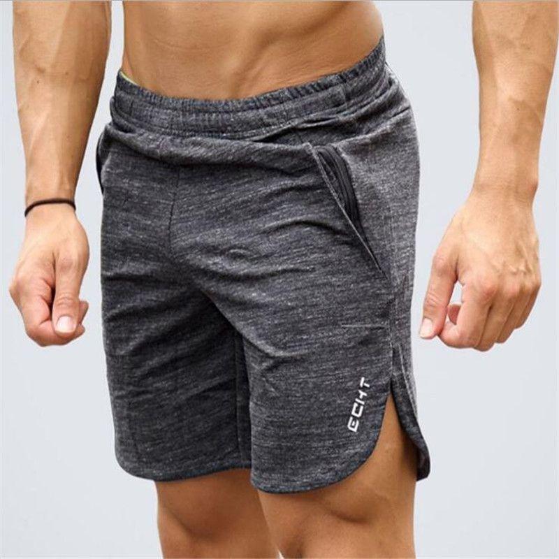Nouveau Mode Hommes Sportives Échouage Shorts Pantalon Coton Musculation Pantalon Fitness Courtes Jogger Casual Gymnases Hommes Shorts