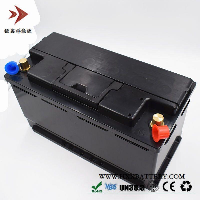 12,8 V 90AH LiFePo4 LFP Lithium-eisen-phosphat-akku mit BMS Brett 1000A CCA für Auto Batterie Lange Lebensdauer Tiefe zyklen
