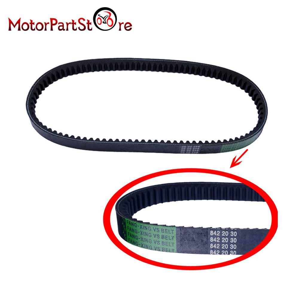 Drive Belt 842 20 30 for Scooter Moped GY6 125cc 150cc QMJ152/157 TaoTao SUNL Roketa V-Belt @20