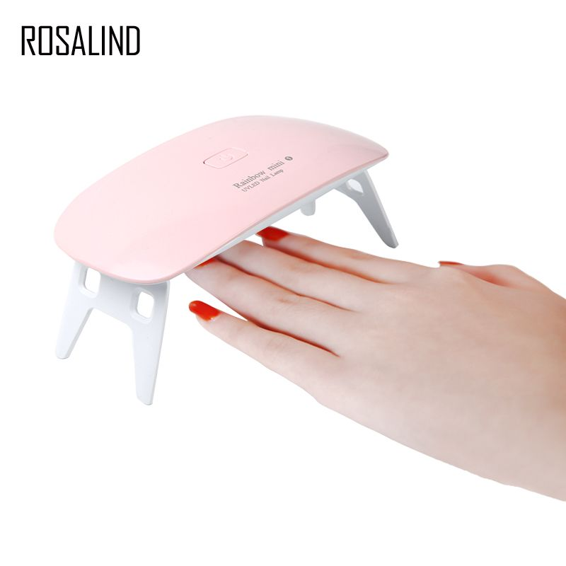 ROSALIND Mini Uv-lampe Nageltrockner FÜHRTE Nagellack Gel Härtung Maschine Portable Maniküre Fingernagel Zehennagel Maniküre Nail art Werkzeug