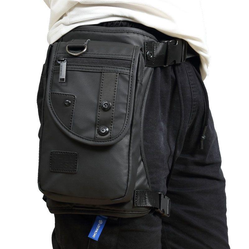 Men fashion High Quality Waterproof Oxford Military Leg Drop Bag Fanny Pack Motorcycle <font><b>Rider</b></font> Travel Waist Leg Bags New