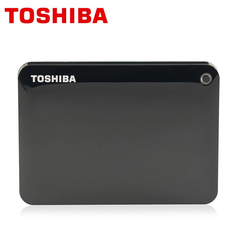 TOSHIBA 2 TB Disque Dur Externe Disque 1000 GB HD 1000 GB HDD Portable CANVIO V8 USB 3.0 SATA3 2.5