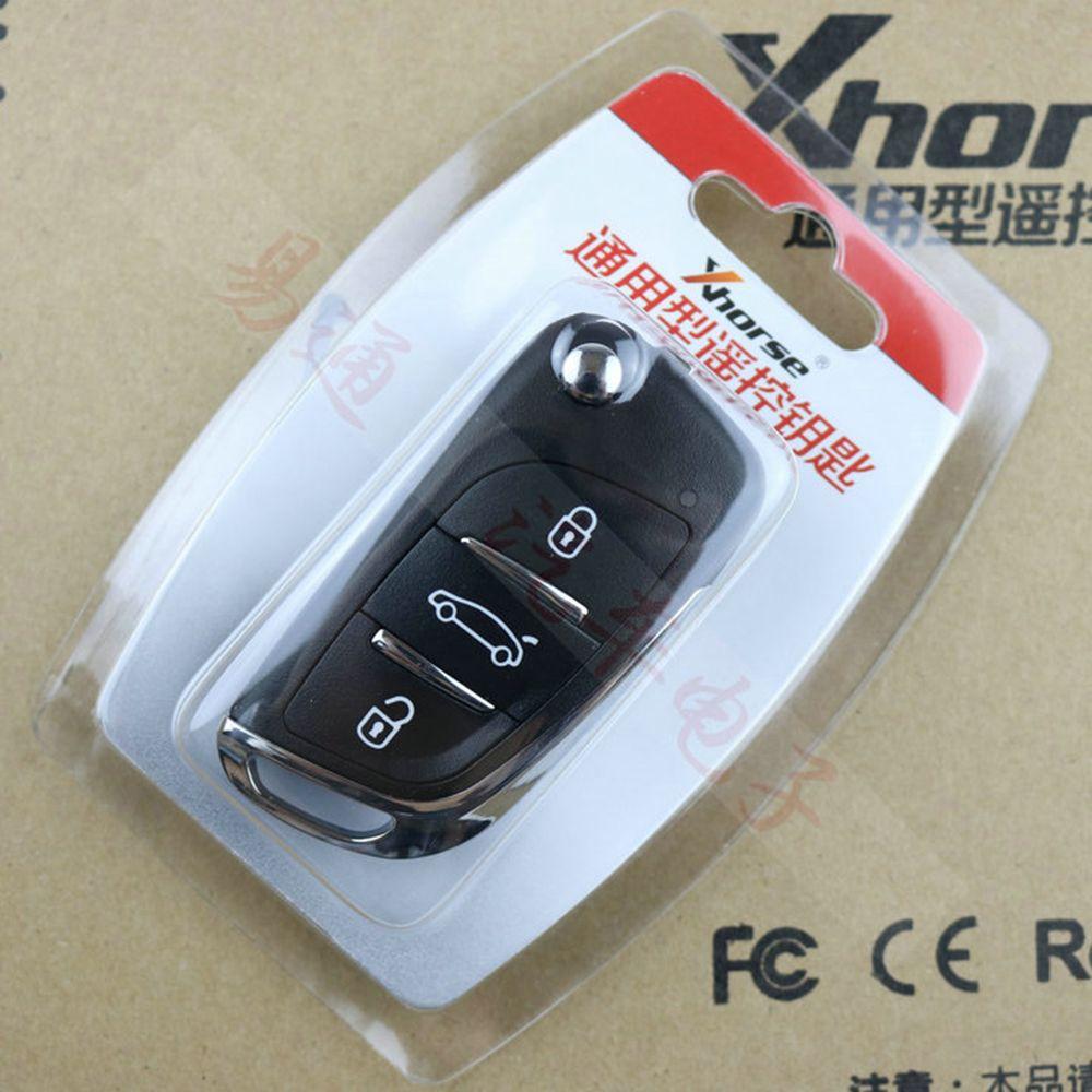 CHKJ Hohe Qualität 3 Tasten Wireless Universal Mit Elektronische Chip VVDI2 Schlüssel Fernbedienung für Xhorse VVDI Schlüssel Werkzeug für DS stil