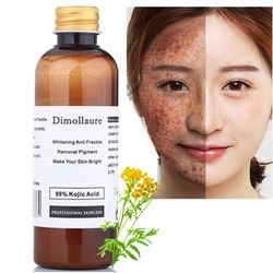 Dimollaure 50g pure 99% Kojic Acid face care whitening cream remove Freckle melasma Acne Spots pigment sunburn Melanin