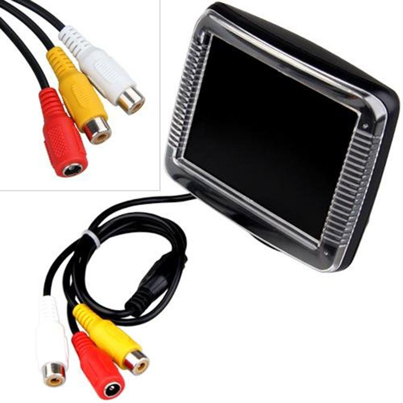 3.5 Inch Car Rearview Reverse Backup Monitor 3.5