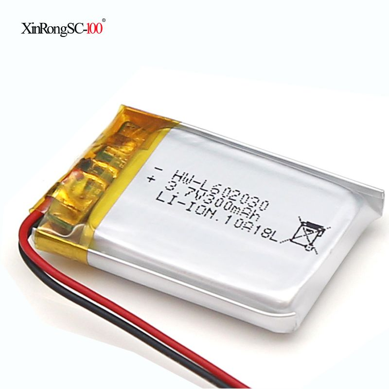 602030 320 mah 3.7V lithium-ion polymer battery quality goods quality of CE FCC ROHS certification authority