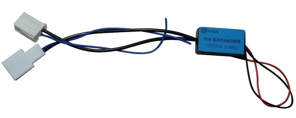 Convertisseur de fréquence d'extension de bande FM de Radio de voiture de 20 MHz pour Toyota