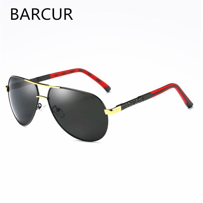 Fashion Outdoor Spring Hinges <font><b>Mirror</b></font> Sun Glasses Male Fishing UV400 Protection Classic Pilot Metal Sunglasses Men Eyewear