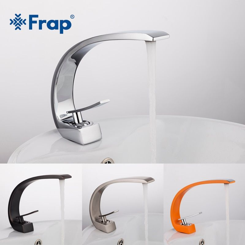 Frap new bath Basin Faucet Brass Chrome Faucet Brush Nickel Sink Mixer Tap Vanity Hot <font><b>Cold</b></font> Water Bathroom Faucets yF10004/5/6/7