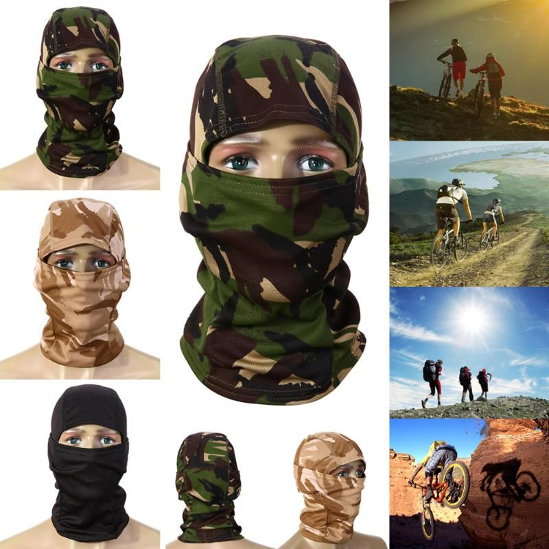 3D Hunting Hunter Camouflage Camo Headgear Balaclava Face Mask for Wargame Paintball Hunting Fishing Cycling Mask Equipment Z60