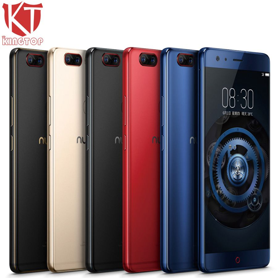 Original ZTE Nubia Z17 Randlos Handy 6/8 gb RAM 64/128 gb ROM Snapdragon 835 Octa core 5,5 23MP Android 7.1 Handy