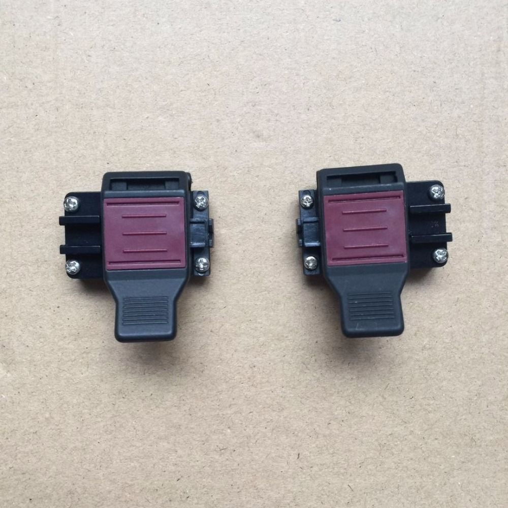 Original JILONG KL-260 KL-280 KL-300T Fusion Splicer patch cord accessories Fiber clamp 3 in 1 fiber holder/ Shealth Clamp