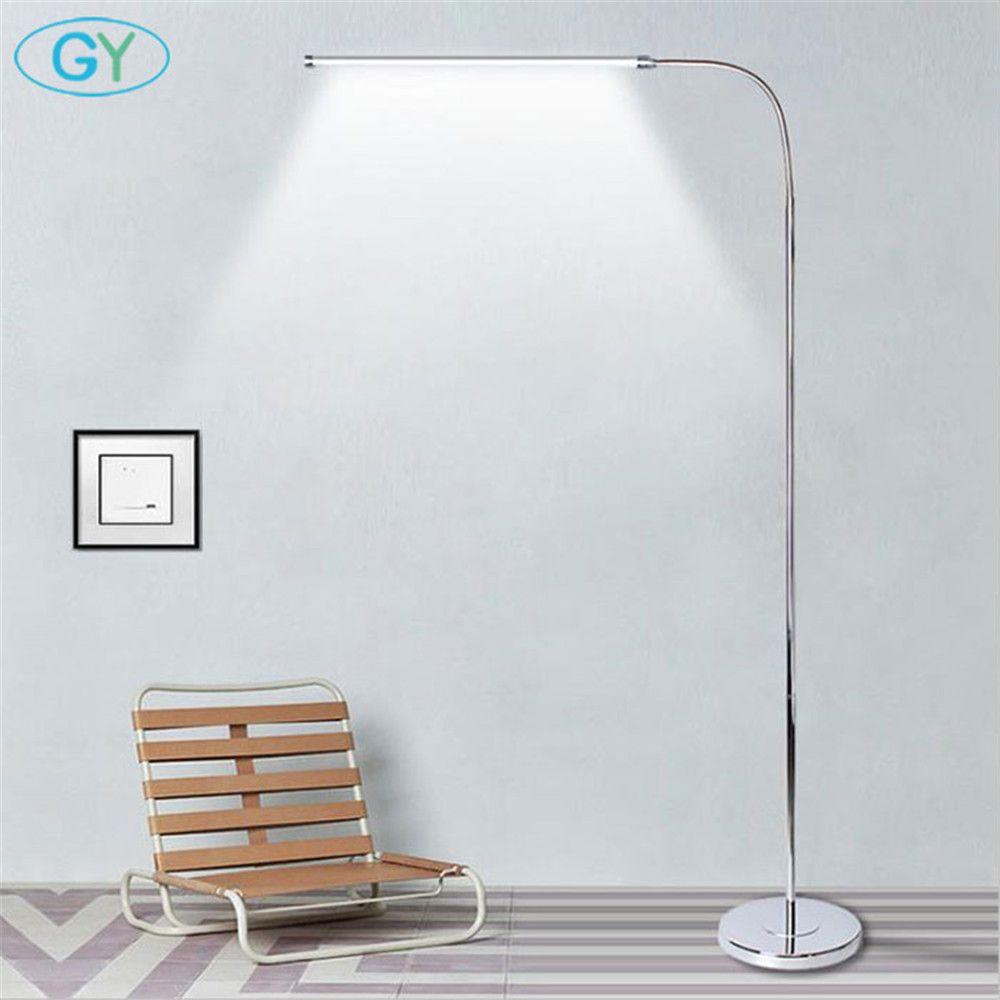 Moderne 9 W 12 W 15 W LED Boden Lampe fernbedienung dimmbare stehen Lichter wohnzimmer klavier lesen stehend beleuchtung led boden beleuchtung