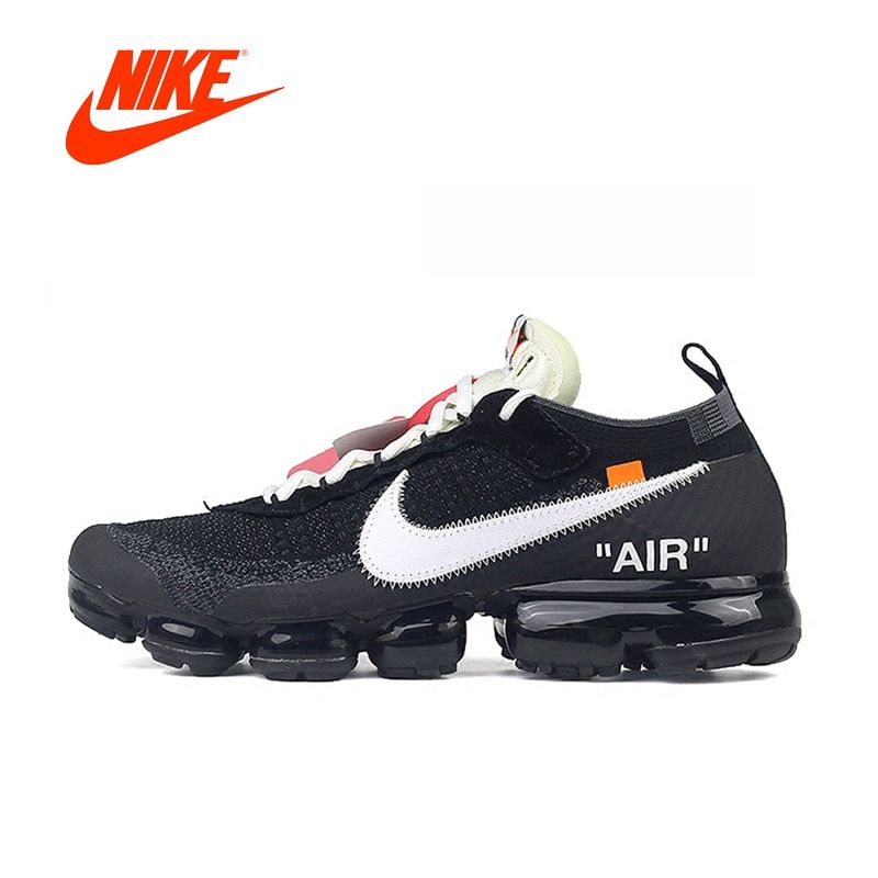 Original New Arrival Authentic Nike X OFF-WHITE AIR VAPORMAX OFW Men's Running Shoes Sport Outdoor Sneakers Comfortable AA3831