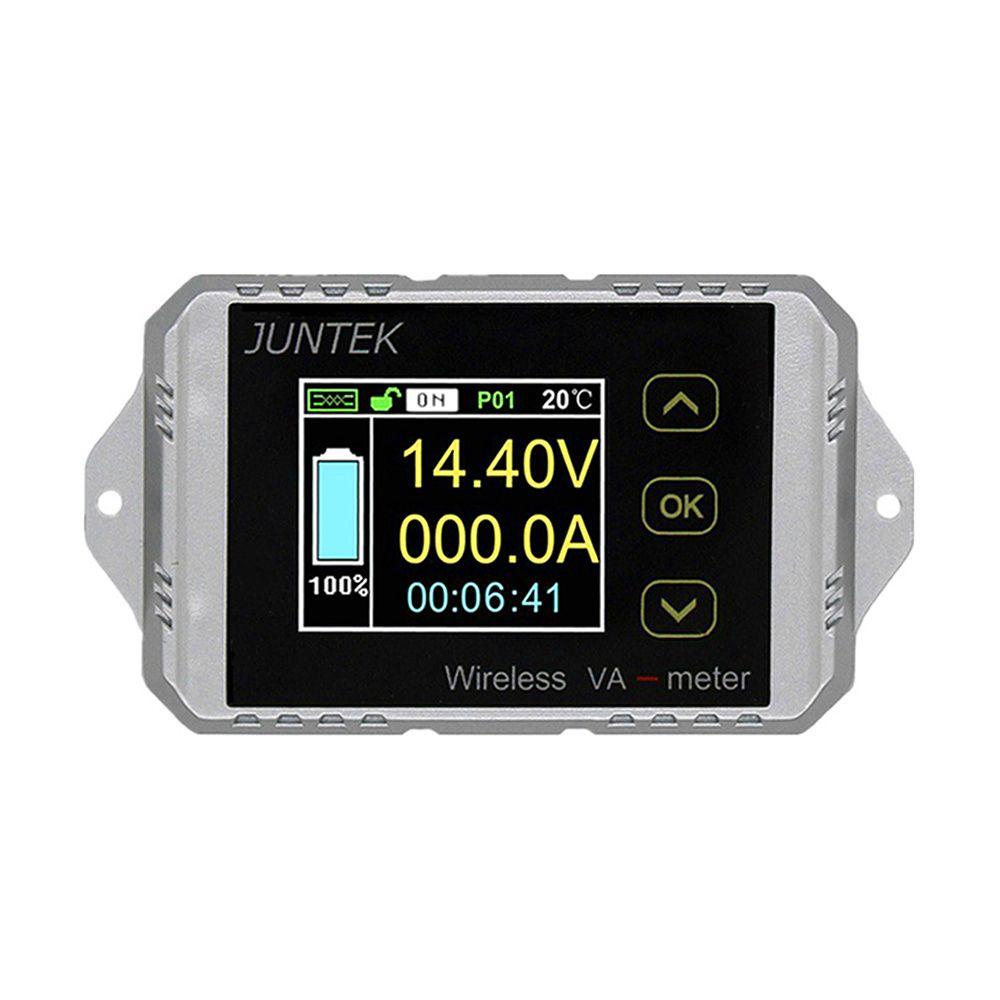 DC 100 V 100A 200A 300A Amperemeter Voltmeter Multifunktionale Drahtlose Digitale bidirektionale Spannung Strom Meter 30% off