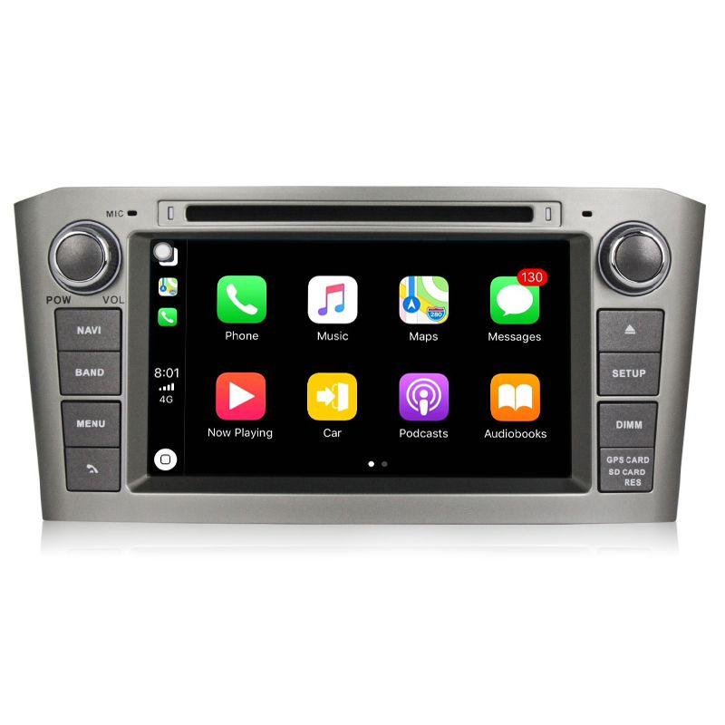 2 din android 8.0 7 Inch PX5 Car DVD Player with GPS Navigation system For Toyota/Avensis T25 2003-2008 Eight Cores Radio FM GPS