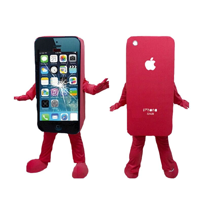 Vente chaude iPhone 5C/Apple Téléphone portable Costume Adulte Taille