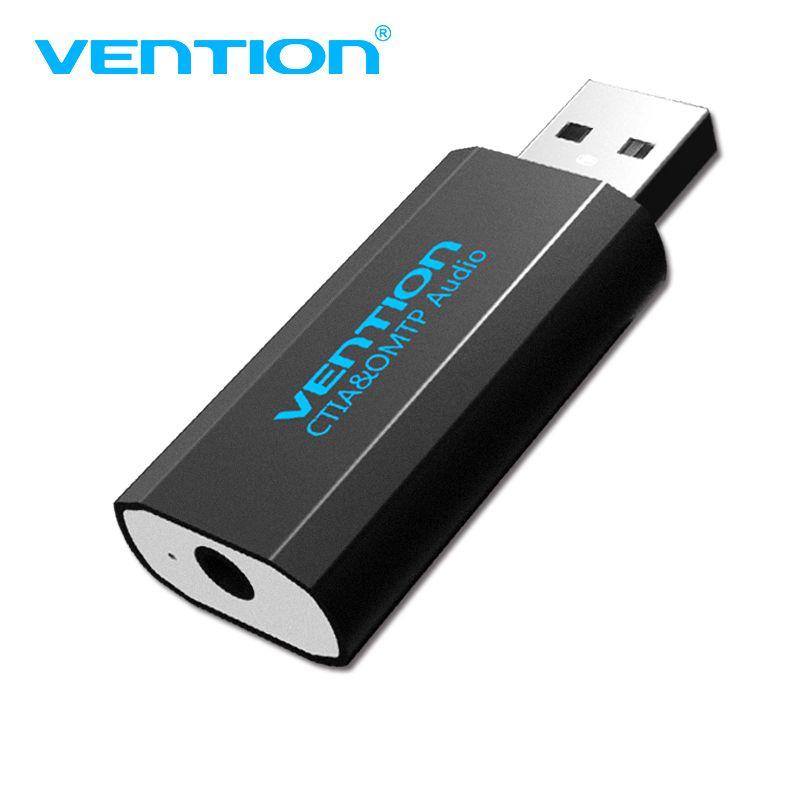 Convention Externe Carte Son usb audio Adaptateur carte Avec Micro USB À Jack 3.5mm Converter Pour Ordinateur portable Casque Son carte