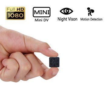 HD 1080 P البسيطة كاميرا DVPortable HD السرية الجسم كاميرا مع للرؤية الليلية و كشف الحركة ، داخلي/في الهواء الطلق صغيرة الأمن Carmera