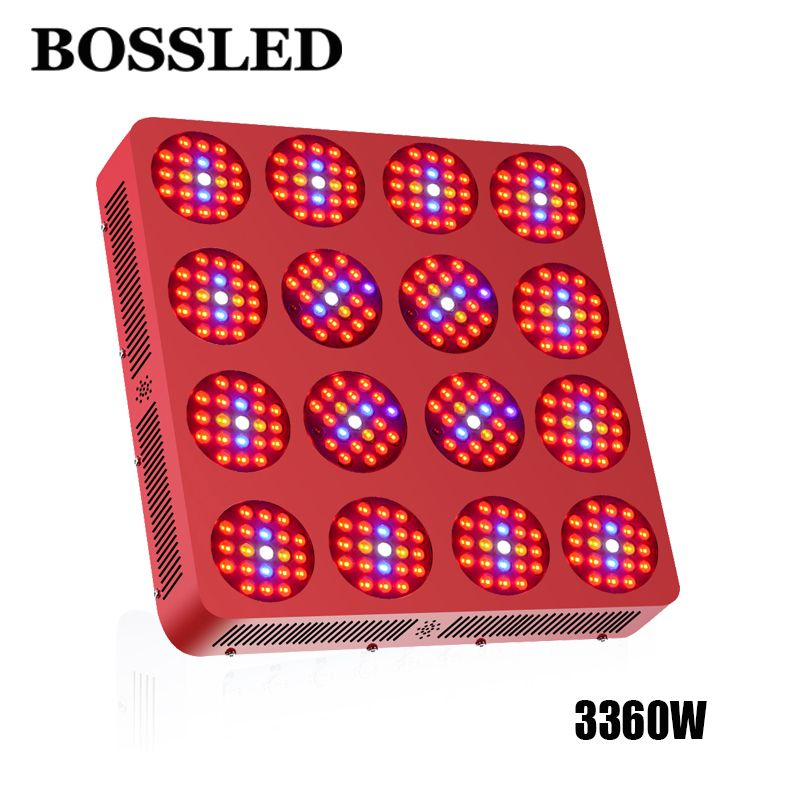 LED Grow Light 3360W Full Spectrum For Flower Plants Vegetative Indoor greenhouse Plant led Flower Veg grow led light