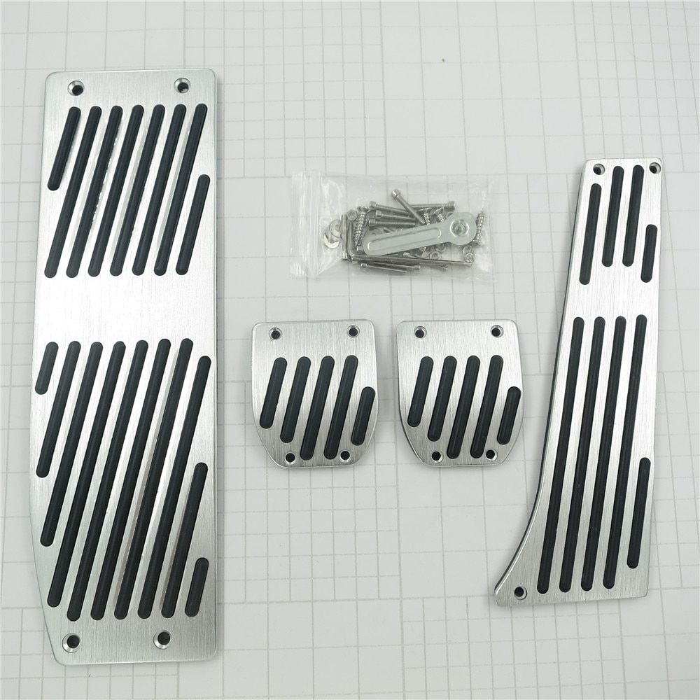 Accessory For BMW X1 3 5-Sery E30 E32 E34 E36 E38 E39 E46 E87 E90 E91 E92 X5 X3 Z3 AT/MT Gas Foot Rest Modify Pedal Pad Stickers