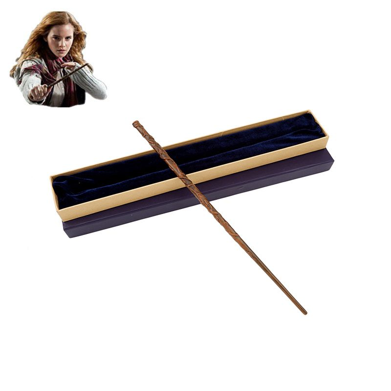 Colsplay New Metal Core Hermione Granger Magic Wand/ Harri Potter Magical Wand/ High Quality Gift Box Packing