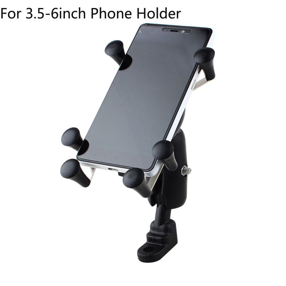 Support pour téléphone portable réglable universel pour moto et vélo support pour téléphone support de guidon antichoc pour Iphone 7 Plus Xiaomi