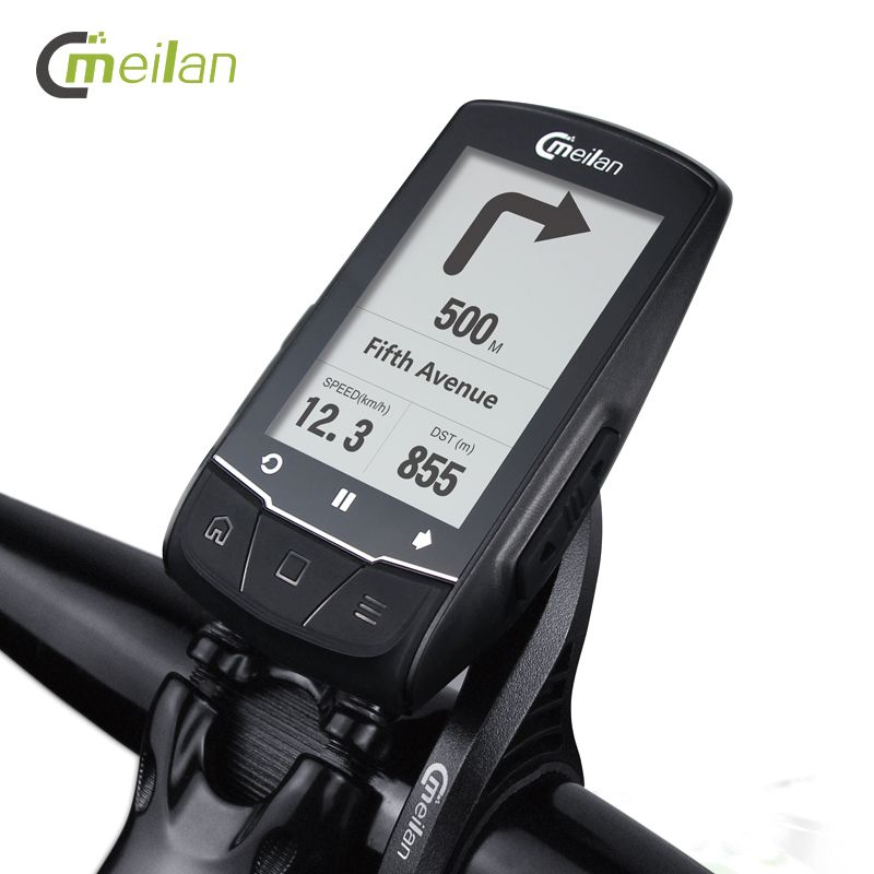 GPS Fahrrad Computer Tacho Candence Herz Rate Drahtlose Fahrrad Computer Gps Navigation 2,6 Bluetooth 4,0 Zyklus Computer