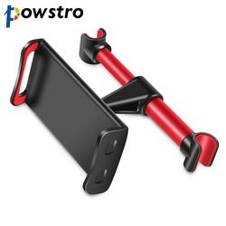 POWSTRO Car Tablet Holder Adjustable 4-11 inch Phone Stand Bracket Mount Universal for iPad iPhone xiaomi samsung Tablet Phone