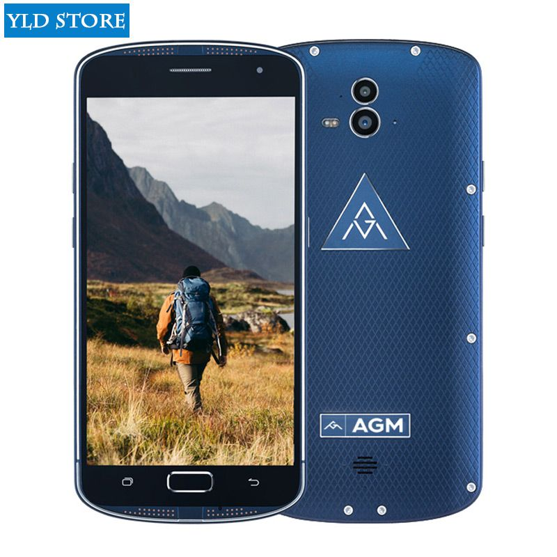 Original AGM X1 IP68 Waterproof Rugged Smartphone 5.5