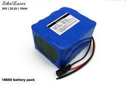 24 V 10AH Baterai lithium dipasang 6S5P baterai mobil listrik baterai portabel luar Rusia Baterai pack