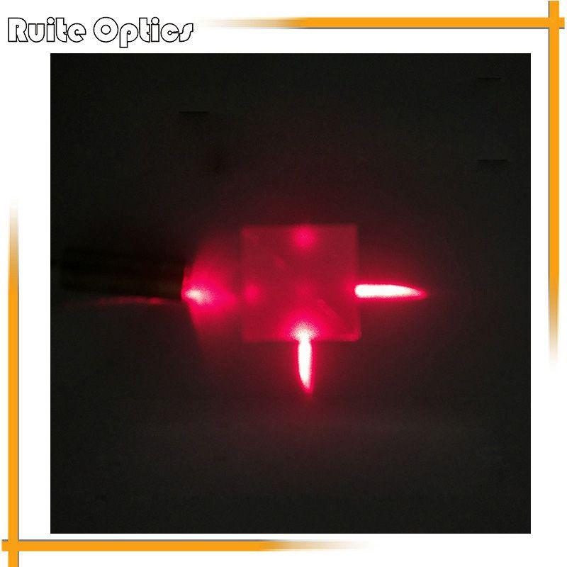 15x15x15mm Optisches Glas Cube Dichroitischen Dispersion Strahlteiler Prisma Spaltung Verhältnis 50: 50 für spektrometer Experiment Prisma