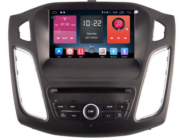 4g lite 2 gb ram Android 6.0 quad core auto dvd player radio gps auto kopf einheiten für FORD FOCUS 2012-2014 2015 DVR band recorder