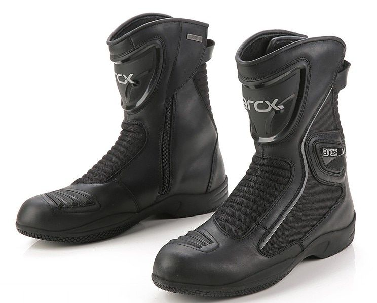 Arcx waterproof motorcycle protection boots racing motorcycles motocross riding boots leather unisex moto shoes SIZE:6-12