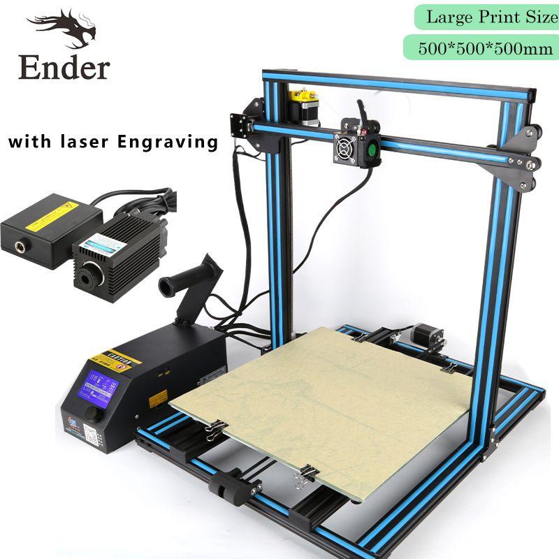 Hot CR-10s CREALITY 3D Printer DIY Kit Support laser Dual-Leading-Screws Rod,Filaments Monitoring Alarm,Large Print Size Crealit